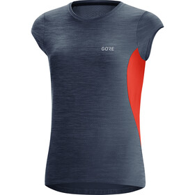 GORE WEAR R3 Shirt Dames, orbit blue/fireball